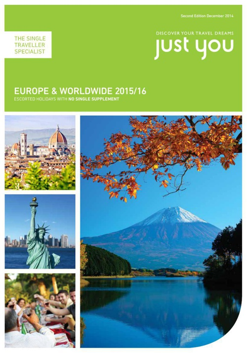 Just You Europe & Worldwide 2015/16 Second Edition Dec 2014
