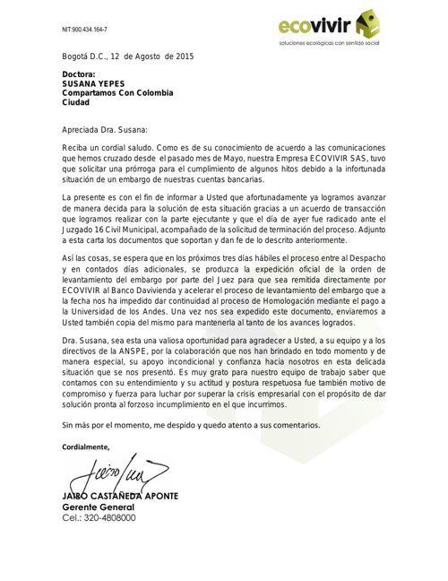 Carta Ecovivir Notificacion Levantamiento Embargo_11 08 15