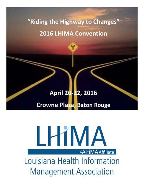2016 LHIMA Convention Program