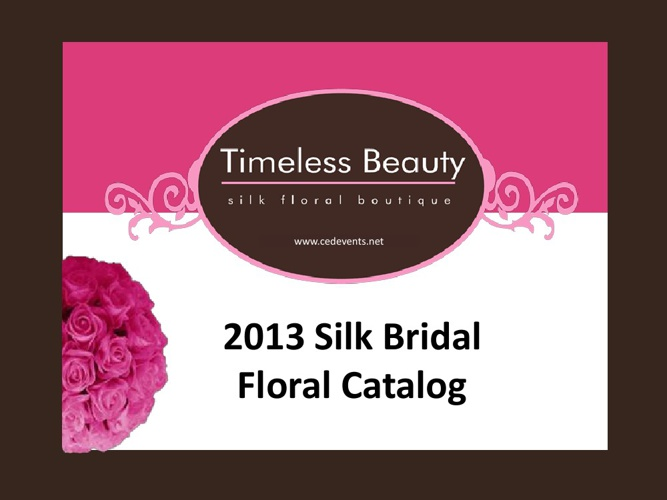 2013 TB Floral Catalog