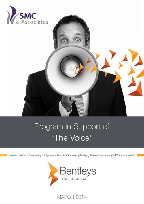 Bentleys PR Program in Support of  The Voice Final