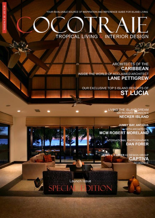 Cocotraie Magazine issue 1 - Captiva by K2 Design