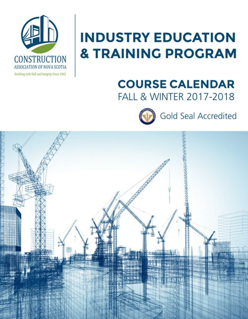 Industry Education & Training - Course Calendar