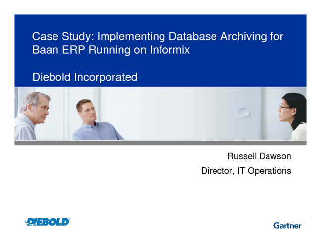 Case Study: Implementing Database Archiving for Baan ERP Running