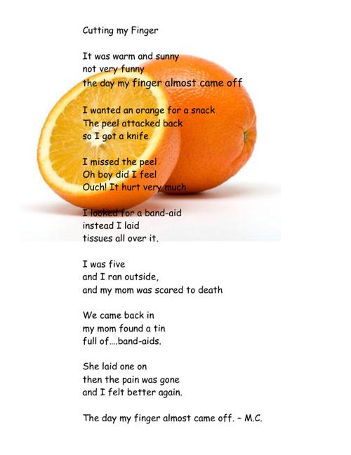 Block C Poems
