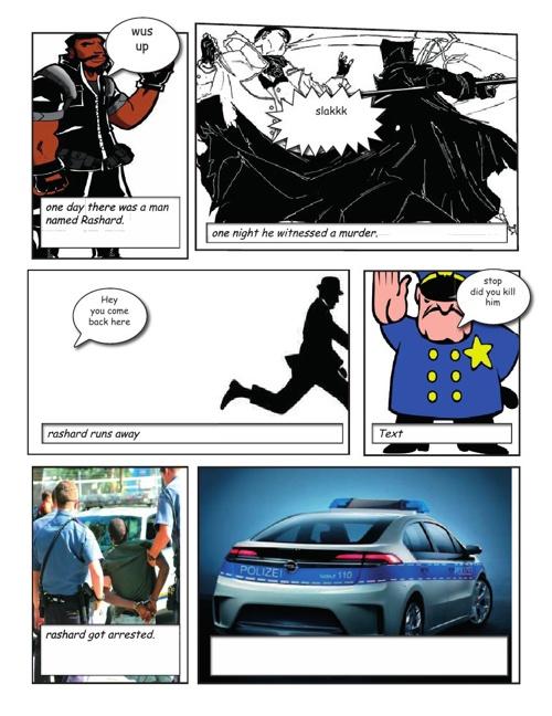 Isaac final comic book