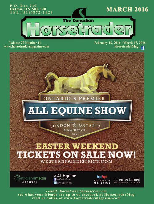 Horse trader Magazine March 2016