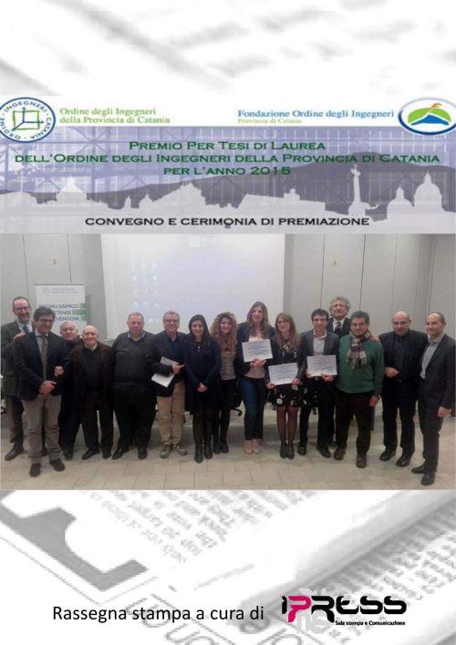 Premio Tesi Ordine degli Ingegneri Catania