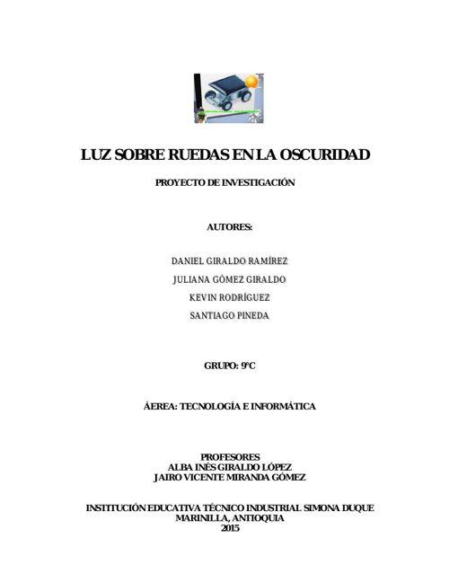 Proyecto Daniel Girlado Ramirez 9C