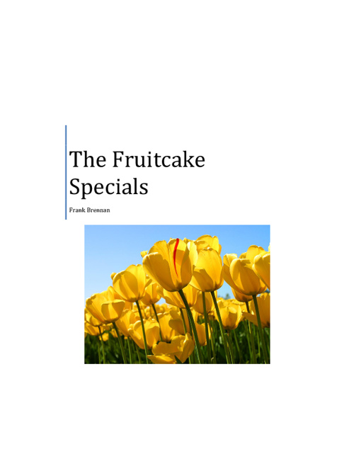 The Fruitcake Specials by Mark Brennan