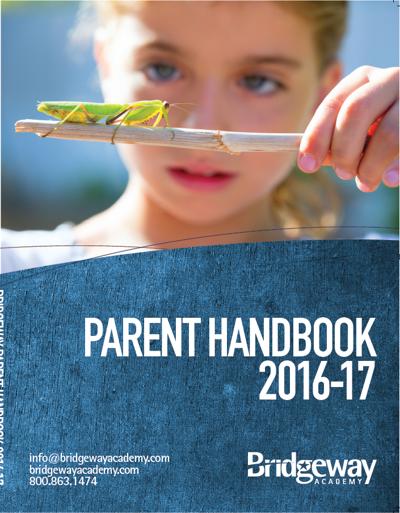 Bridgeway Parent Handbook 2016-2017