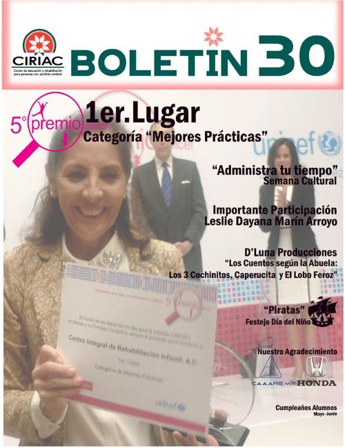 BOLETIN No. 30 CIRIAC