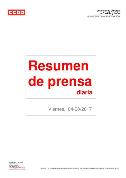 Resumen de prensa viernes día 04 de agosto de 2017.pdfI