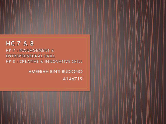 AMEERAH BUDIONO HC 7 and 8
