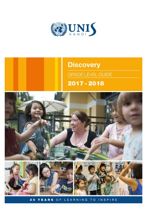 Discovery Grade Level Guide 2017-2018