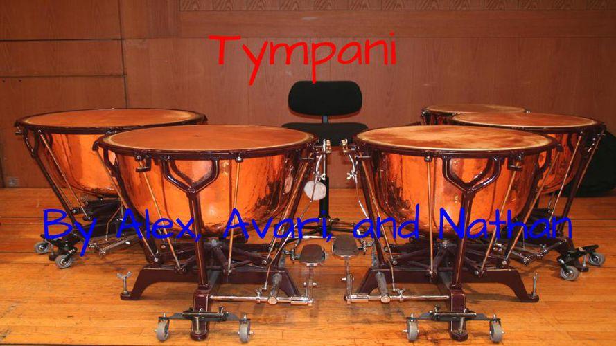 Timpani- Alena, Nathan, Avari