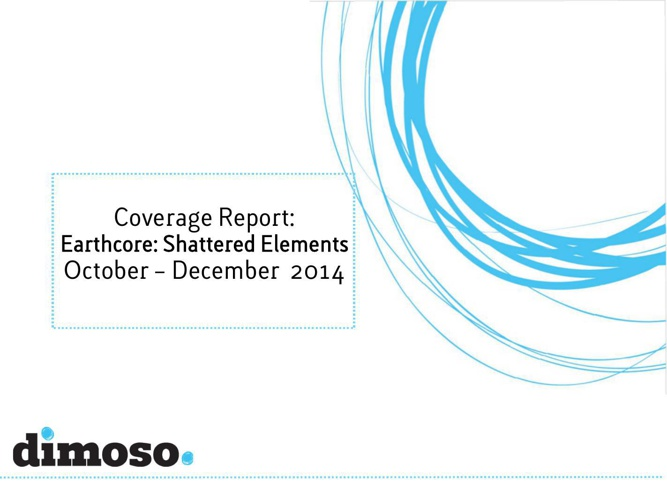 dimoso report on coverage Oct - Dec 2014