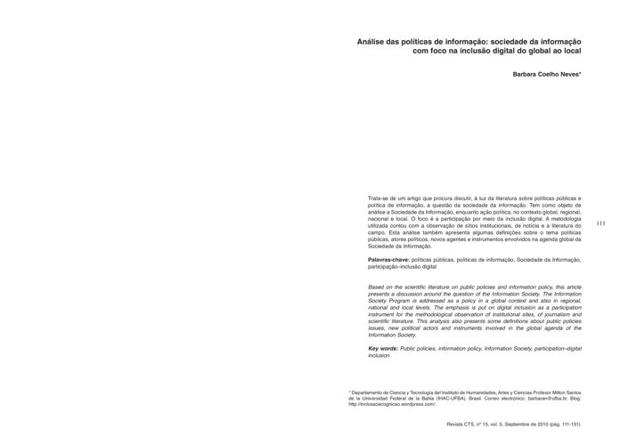 VOL05/N15 - Coelho
