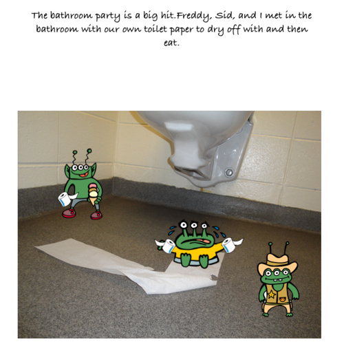 Just Another Ordinary Day at the Toilet Park (Draft)