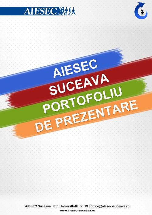 AIESEC Suceava - Mapa de prezentare 2012-2013