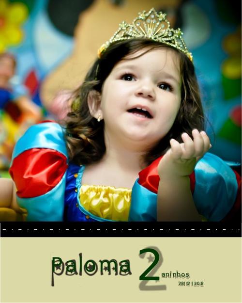 Aniversário de Paloma - 2 Anos