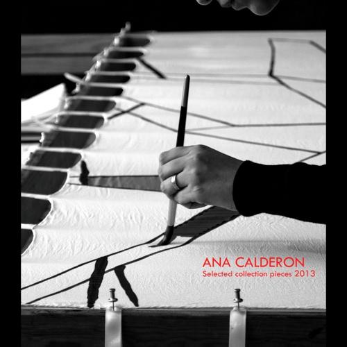 ANA CALDERON Selected collection pieces 2013