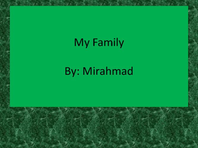 Mirahmad