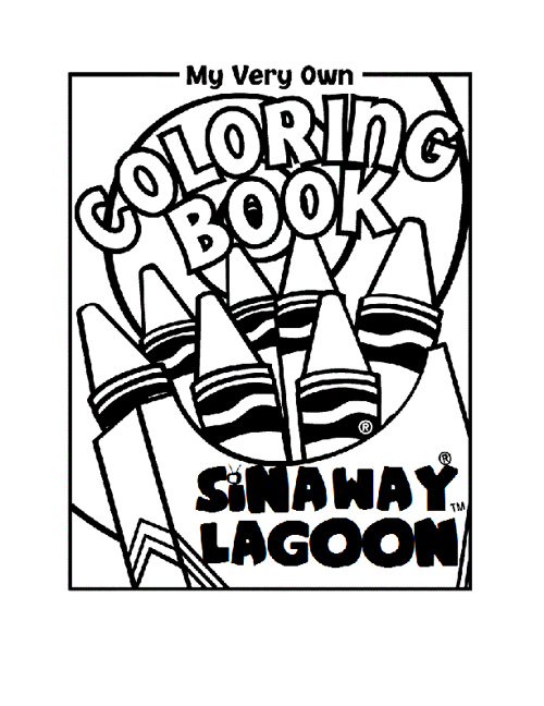 Sinaway Lagoon coloring book