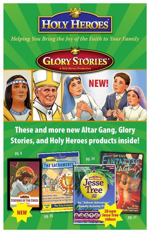 Holy Heroes 2014 Catalog