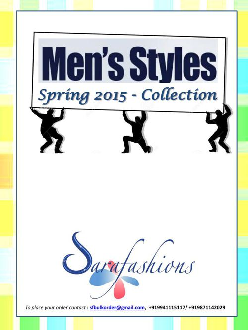 Mens Clothing_Spring 2015 Collection