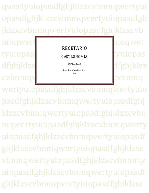 RECETARIO pdf bach