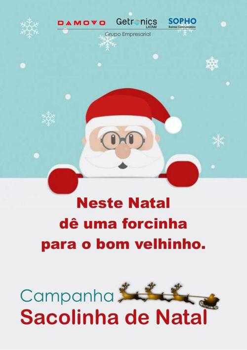 Campanha Sacolinha de Natal