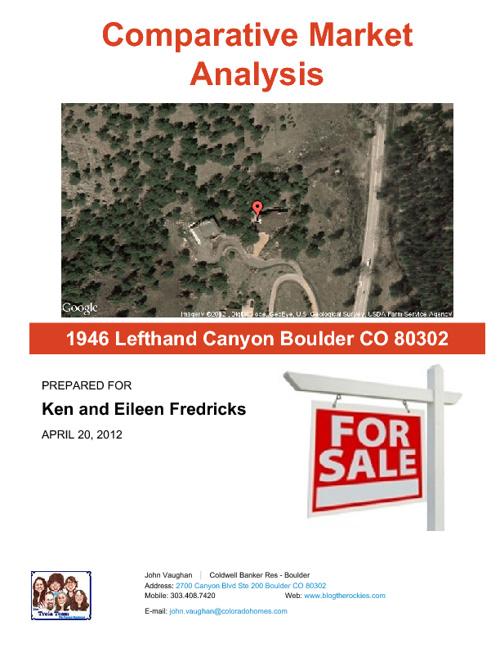 1946 Lefthand Canyon CMA