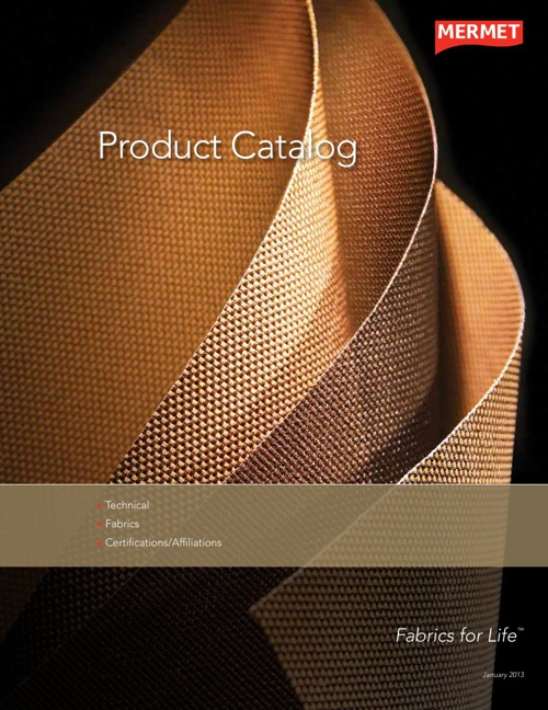 2013 Mermet Product Catalog
