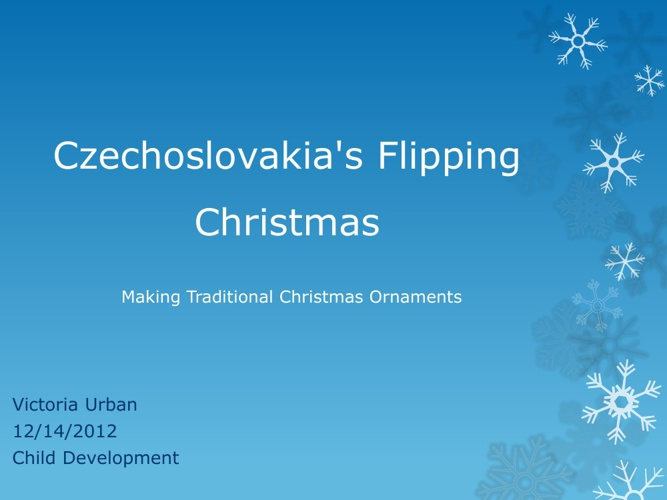 Czechoslovakia's Flipping Christams
