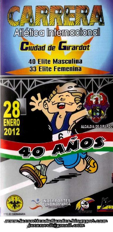 XL Carrera Atlética Internacional Ciudad de Girardot