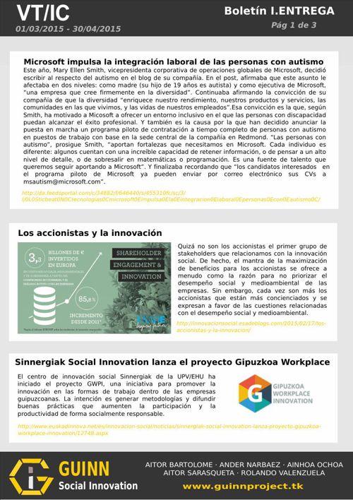 GUINN Boletín VT/IC