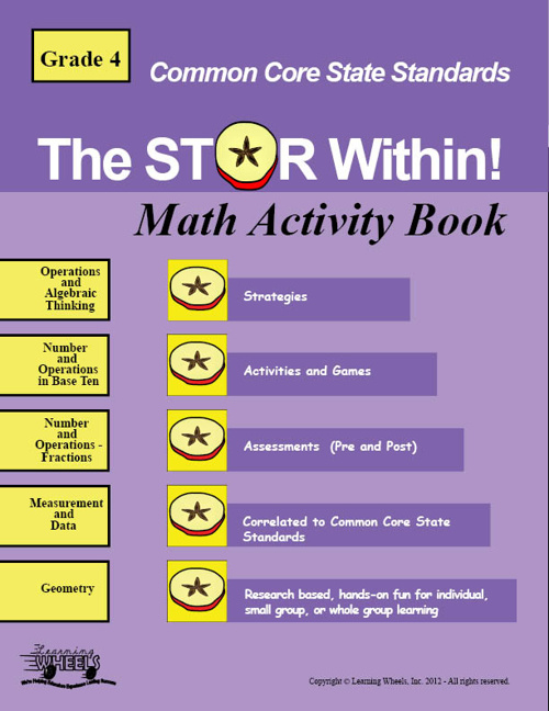 Common Core 4th Grade Math Activity Book