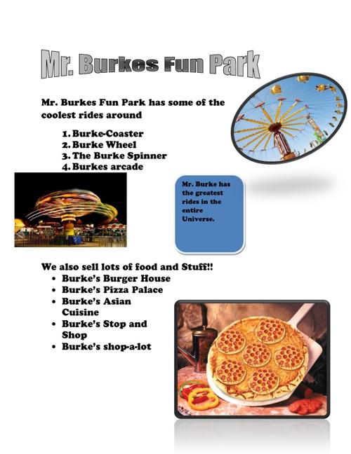 Amusement Park Project Tyler Burke