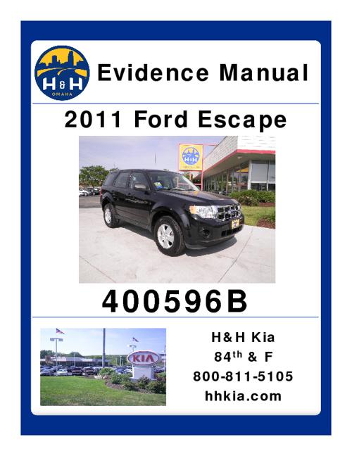 Kia Evidence Manual 1