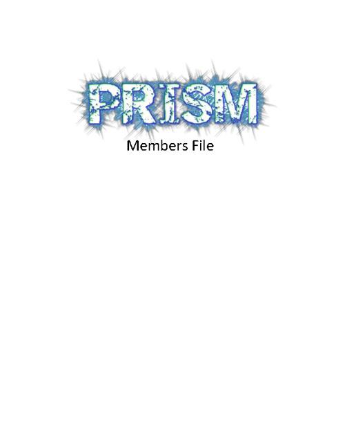 PRISM Members
