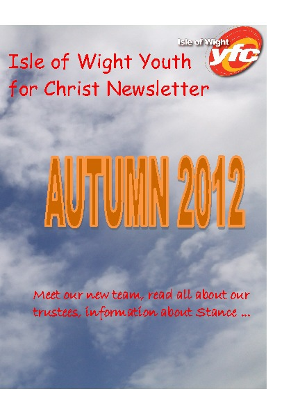 Isle of Wight YFC Newsletter