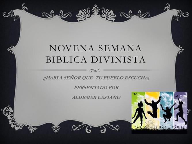 NOVENA SEMANA BIBLICA DIVINISTA