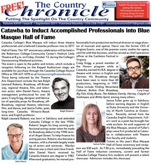 September 2017 The Country Chronicle