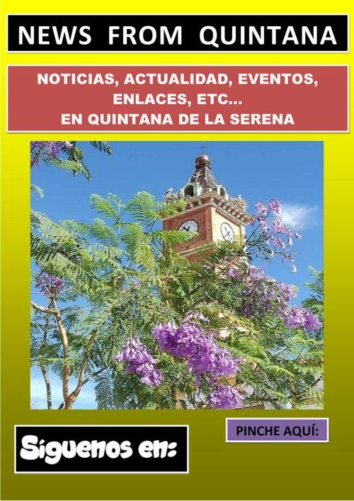 GUÍA EVENTOS QUINTANA DE LA SERENA A PARTIR 21 DE JULIO 2O17