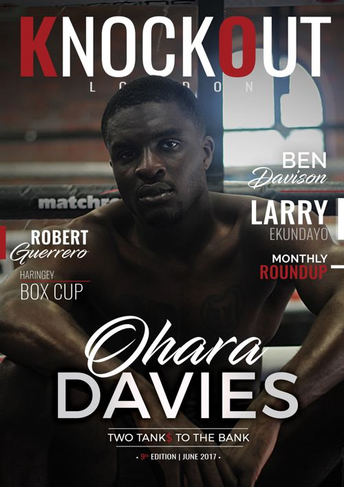 KnockOut London Magazine 9 - Ohara Davies Two Tanks to the Bank