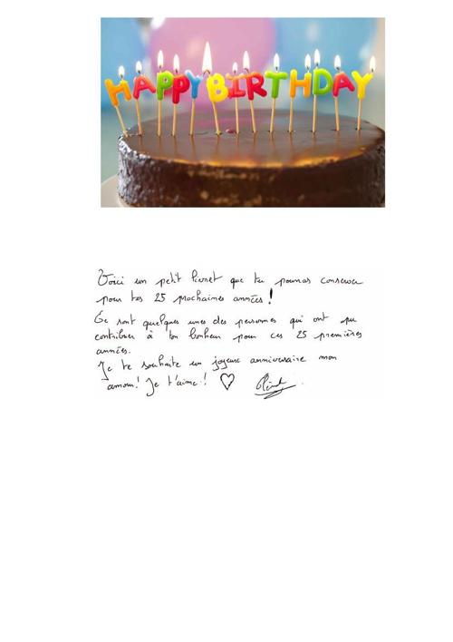 carte anniv Marie