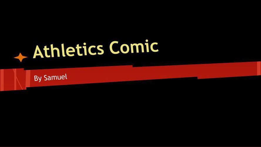 Athletics Comic