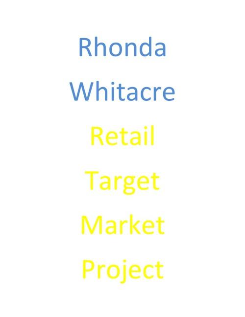 Retail Target Market