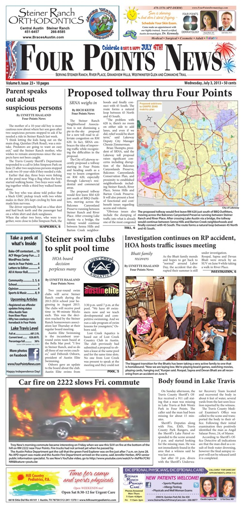 Four Points News July 3 2013 Issue